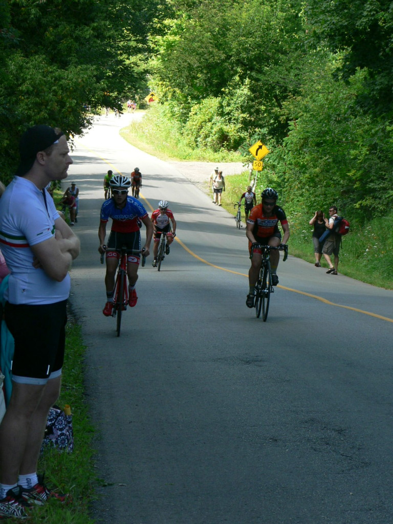 The Heritage Climb blew the peloton apart resulting in some exciting racing.